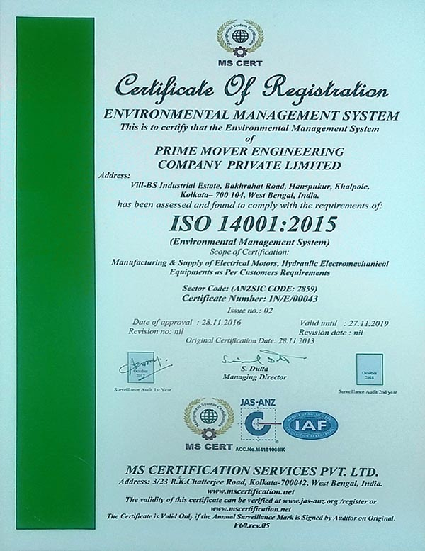 Prime Mover Engineering Company Private Limited